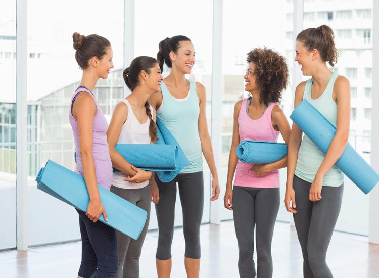 women-yoga-mat